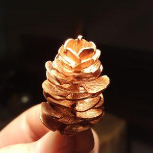 Copper Pinecone